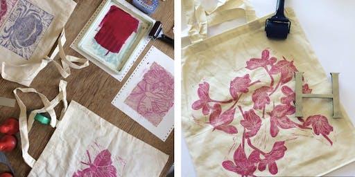 Block Printing Workshop with Hannah Turlington