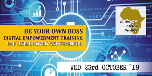 Be Your Own Boss Digital Empowerment Training