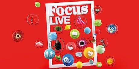 Focus Live Trento: Serata di apertura biglietti