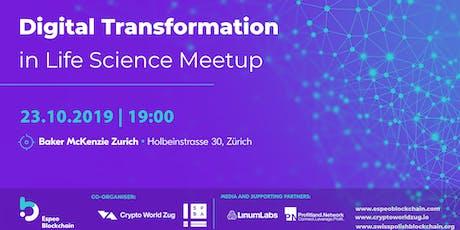 Digital transformation in life science tickets