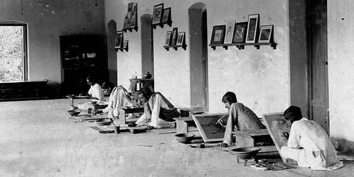 The Strange Case of Kandinsky, Klee and the Bauhaus Artists in Calcutta