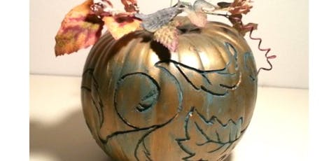 Painted Pumpkins Workshop tickets