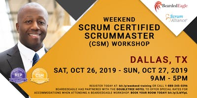 Weekend Certified ScrumMaster® – DFW