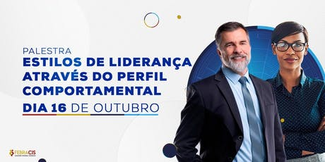 [BRASÍLIA/DF - Palestra Gratuita] Estilo de liderança através do perfil 16/10/2019 ingressos