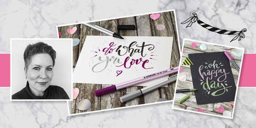 Workshop: Hand- & Brushlettering mit Ilona Regnery