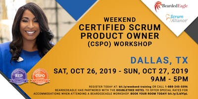 Weekend Certified Scrum Product Owner® – DFW