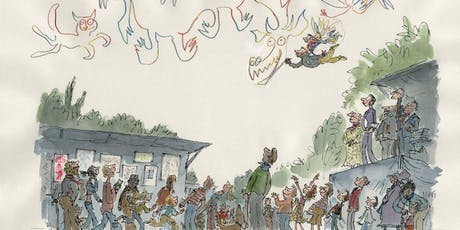 QUENTIN BLAKE: Inventing and Capturing Characters tickets