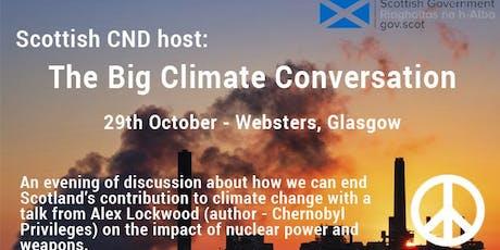 Scottish CND's Big Climate Conversation with Alex Lockwood tickets