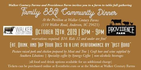 Family BBQ Community Dinner tickets