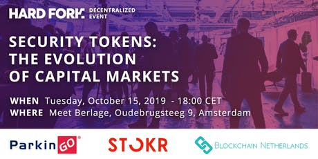 Security Tokens - The Evolution of Capital Markets tickets