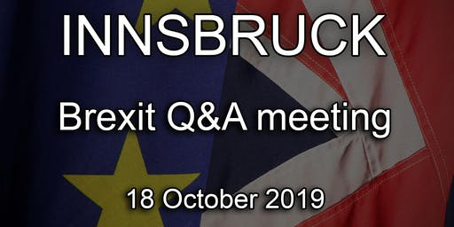 Innsbruck - British Embassy Brexit Q&A Event