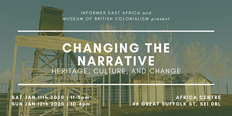 Changing the Narrative: Heritage, Culture, and Change tickets