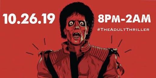 2nd Annual Thriller Night Adult Halloween Fundraiser 10.26.19