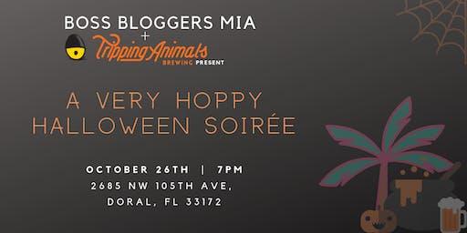 Boss Bloggers MIA + Tripping Animals Brewing Halloween Soirée