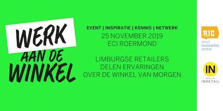 Event | WERK AAN DE WINKEL  | RIC & Inretail tickets