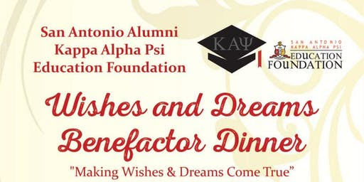 Wishes and Dreams Benefactor Dinner Donations