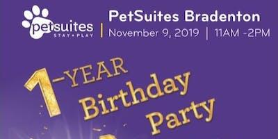 Petsuites Bradenton 1st year birthday party