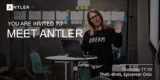 Meet Antler   Thu. Oct. 17th