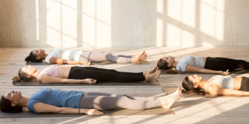 Sunday Savasana! Themed Hatha Yoga Class - Letting Go