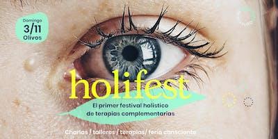 Holifest - El primer festival holístico de terapias complementarias