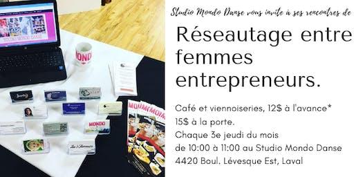 Rencontre de réseautage entre femmes entrepreneurs - Women's networking