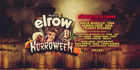 elrow Halloween: Horroween en FABRIK entradas