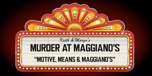 Maggiano's Springfield Murder Mystery Night