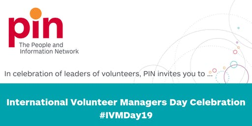 International Volunteer Managers Day Celebration #IVMDay19