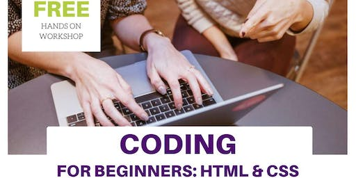 Coding for Beginners: HTML & CSS