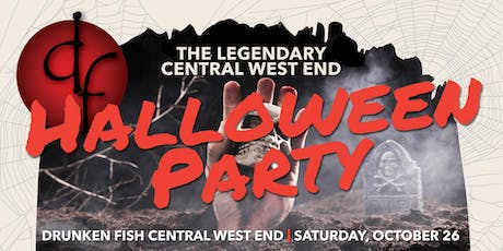 The Official Halloween Party of the Central West End! tickets