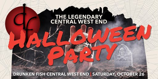 The Official Halloween Party of the Central West End!