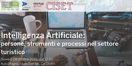 Intelligenza Artificiale: persone, strumenti e processi nel turismo biglietti