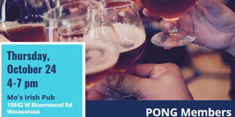 PONG Networking Event tickets
