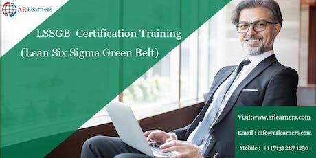 LSSGB 4 days Certification Training in Kansas City, MO, USA tickets