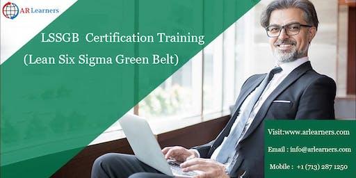 LSSGB 4 days Certification Training in Kansas City, MO, USA