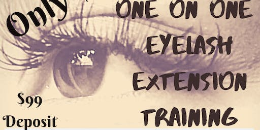 $399 Eyelash Extension Training
