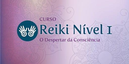 Curso Reiki Nível 1 - O Despertar da Consciência (5ª Turma)