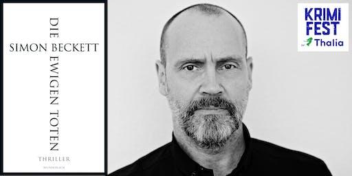 Krimifest bei Thalia: Simon Beckett LIVE!