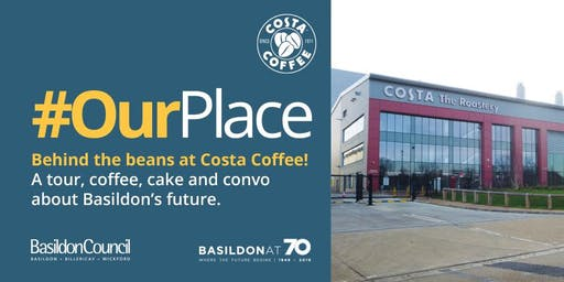 Behind the beans at Costa Coffee!