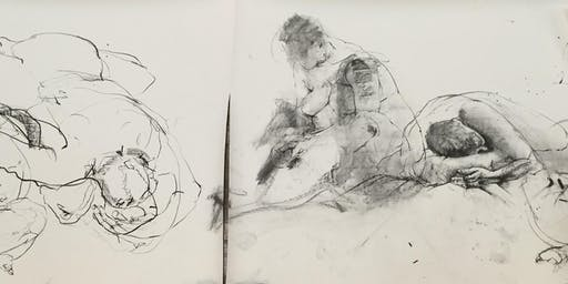 Life Drawing Workshop by Kirsty Whiten: Forgan Arts Centre, Newport on Tay