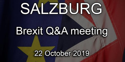 Salzburg - British Embassy Brexit Q&A Event