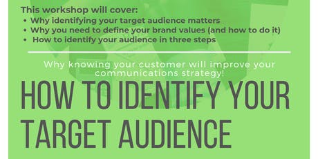 How To Identify Your Target Audience tickets