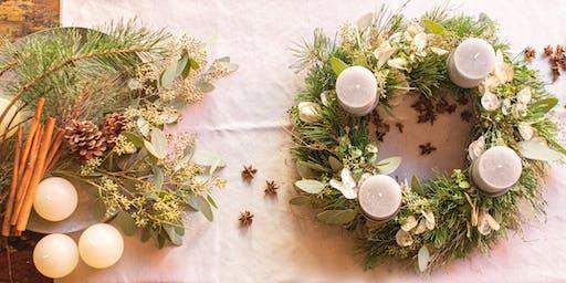 Adventkränze binden, die pure Weihnachtsvorfreude