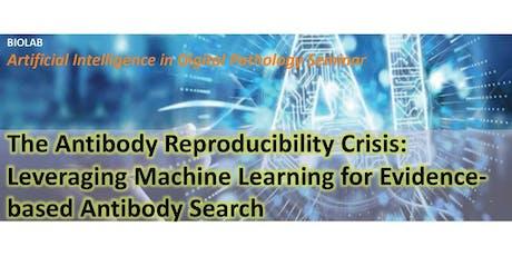 The Antibody Reproducibility Crisis tickets