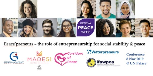 Peace'preneurs – the role of entrepreneurship for social stability & peace