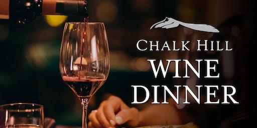 Chalk Hill Wine Dinner