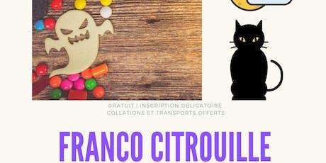 FRANCO CITROUILLE tickets