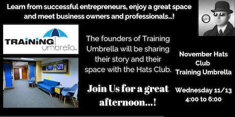 November Hats Club - Training Umbrella tickets