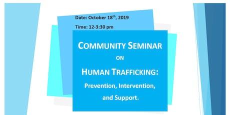 Community Seminar on Human Trafficking tickets
