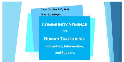 Community Seminar on Human Trafficking